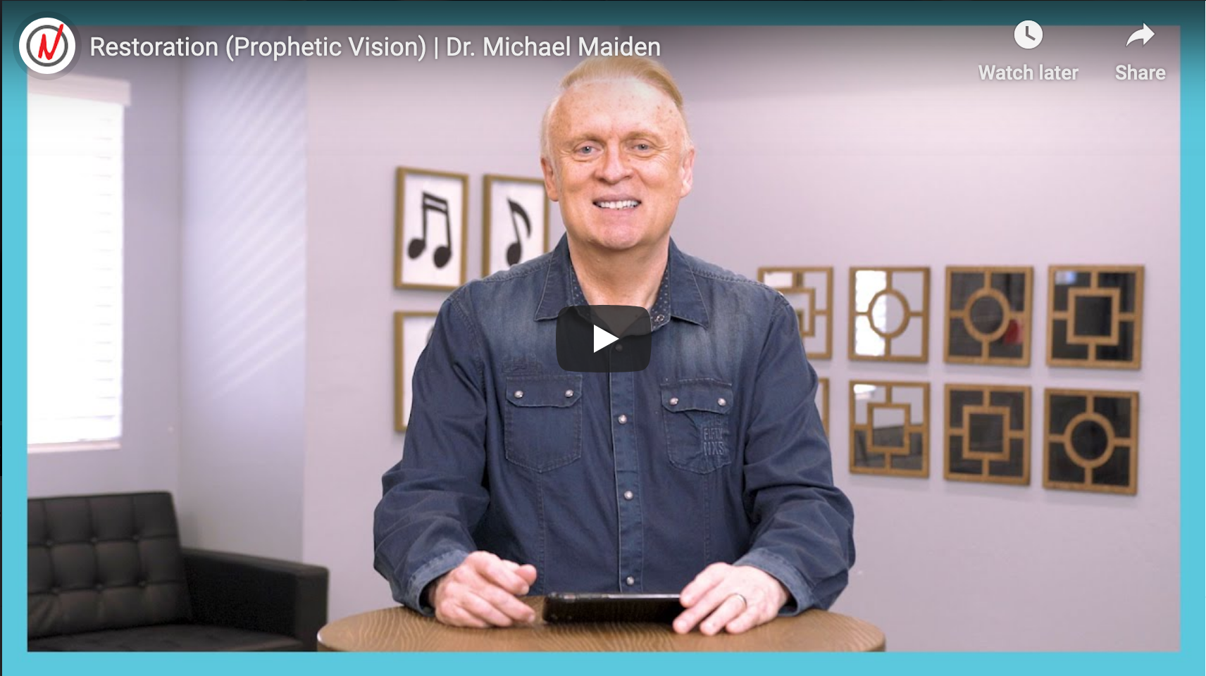 Prophetic Vision: Restoration